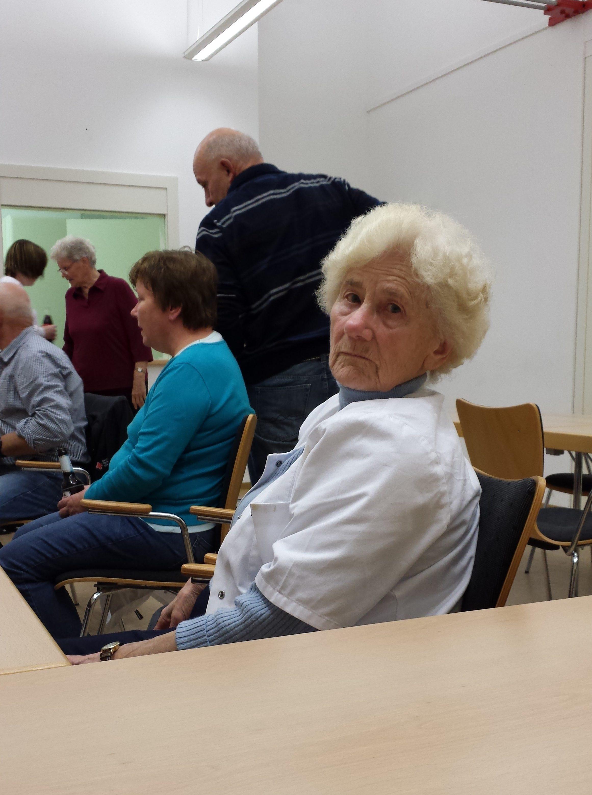 Jährlich finden bei uns mehrere Senioren-Nachmittage statt...